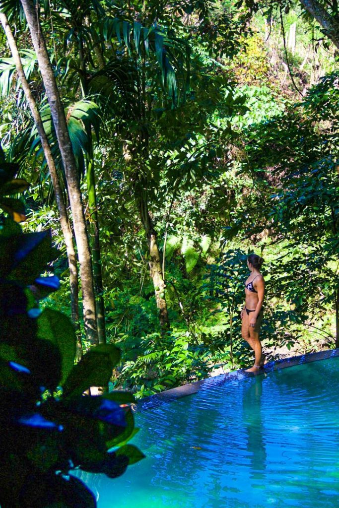 svarga loka wellness resort infinity pool ubud bali