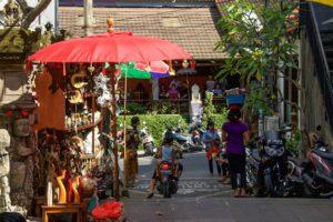 ubud market streets bali