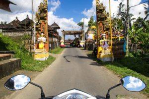 Scooter rides through the ubud hills bali