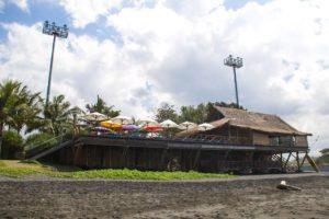 komune resort keramas night surfing bali