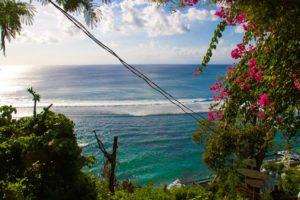 waves bingin beach sunset surf bali