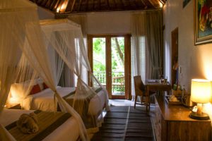Hotel room at Svarga Loka ubud