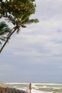balian beach surfing bali