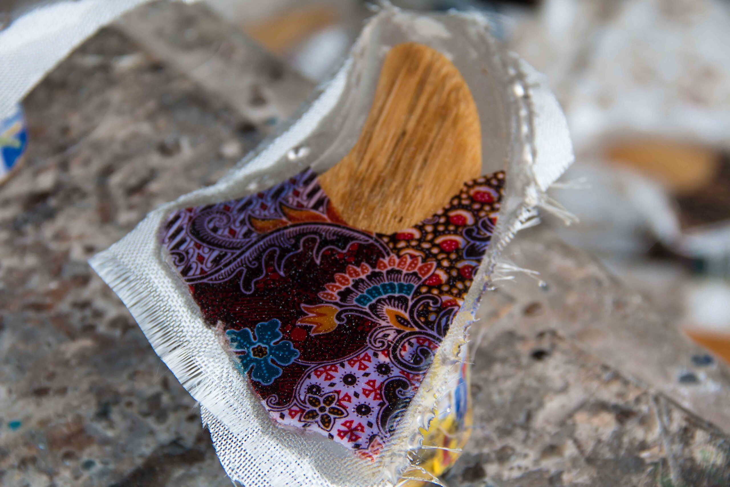 Batik Fins Cimaja in Java