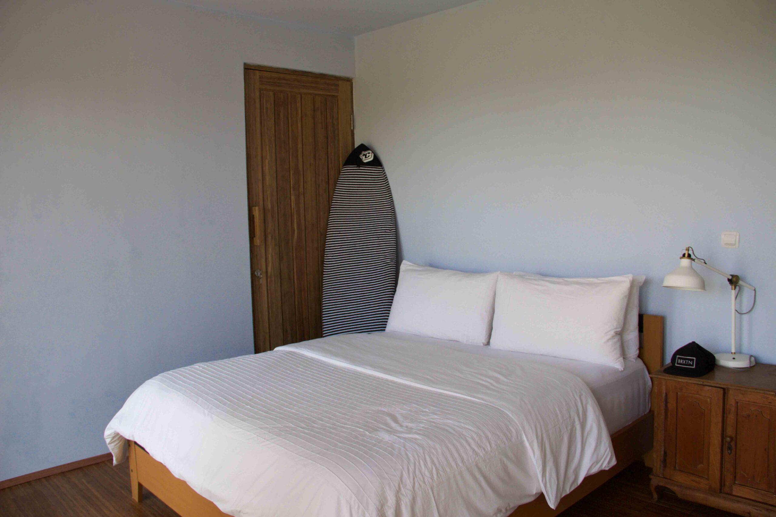 bedroom cimaja beach club java