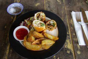 cimaja beach club food restaurant java