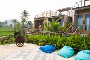 Cimaja Beach Club hotel in Java