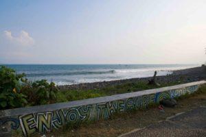 cimaja street art surfing java