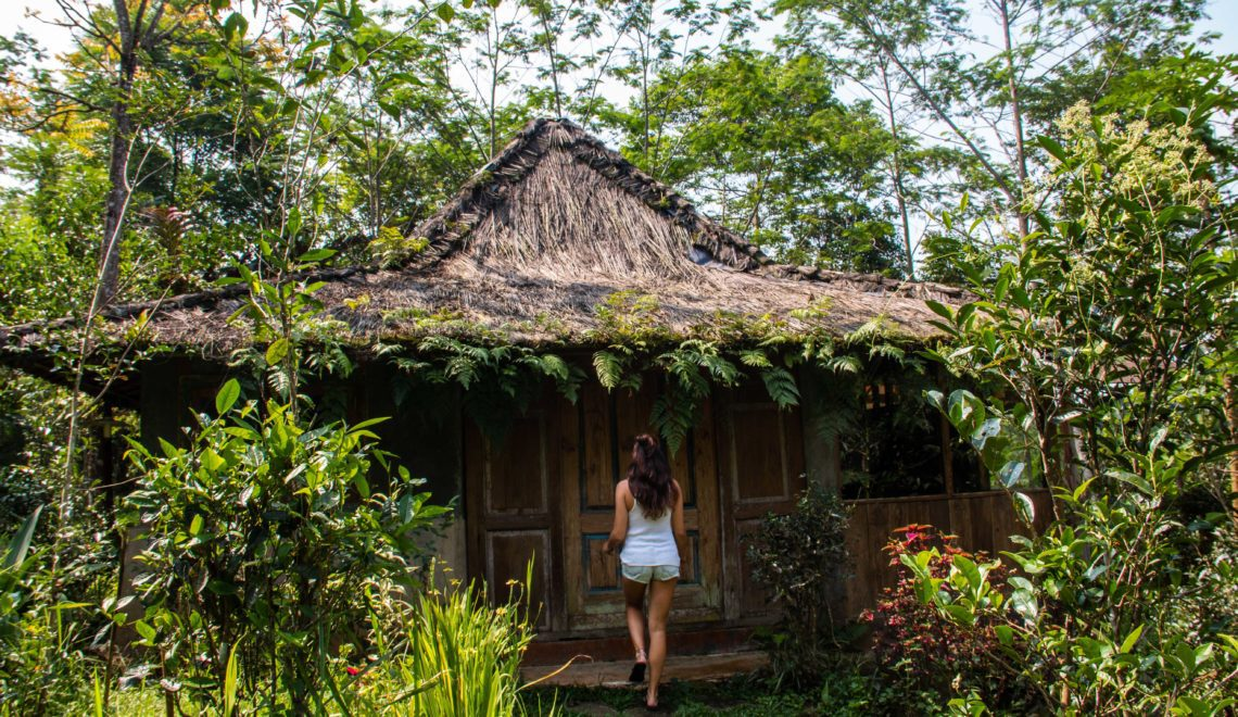 Lodges Ekologika on Portibi Farms: a garden of Eden in Java