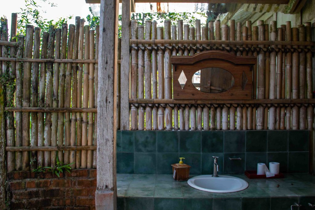 bathroom Lodges Ekologica Portibi Farms Java