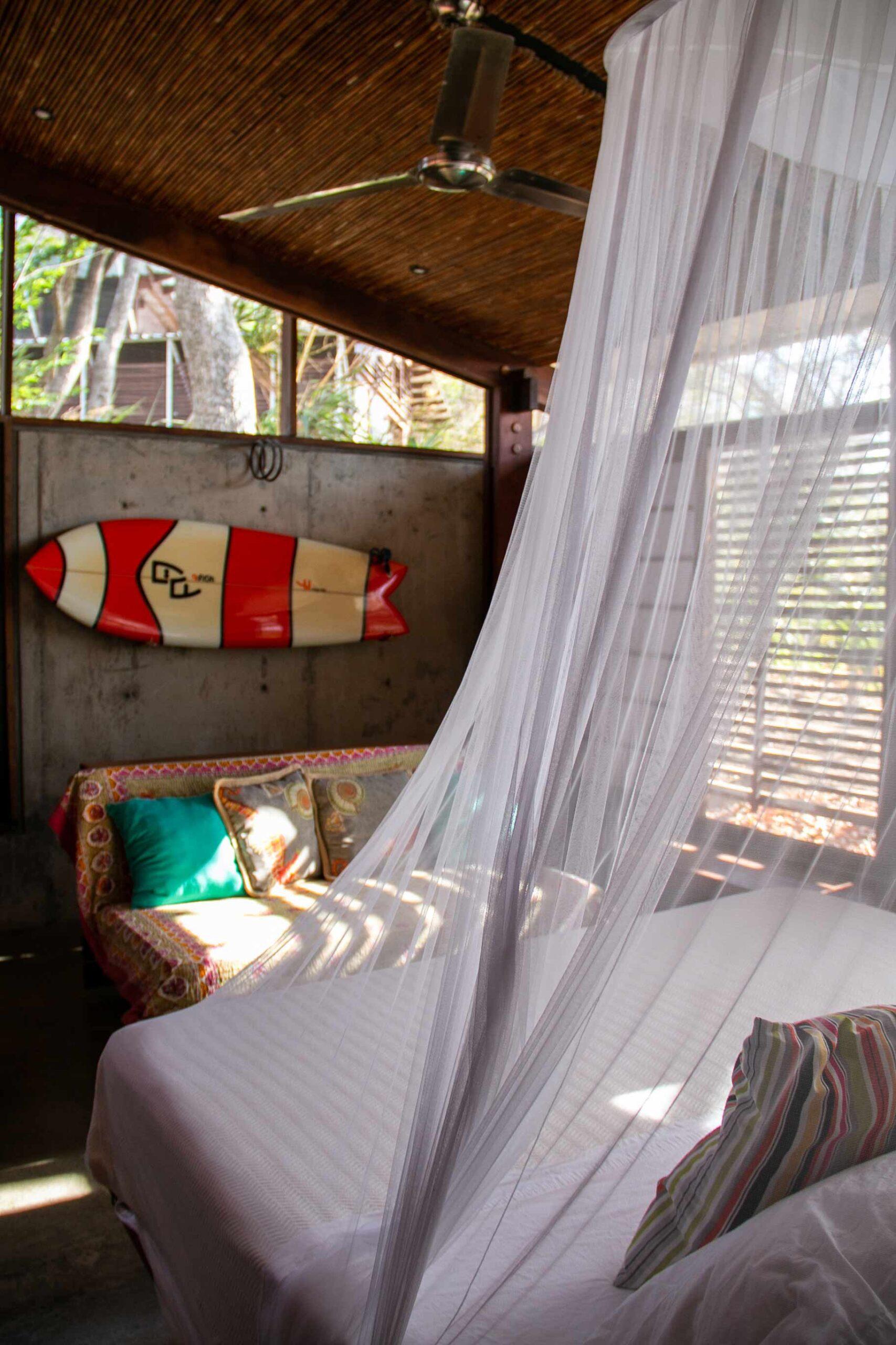 Bedroom at Balcones de Majagual Nicaragua