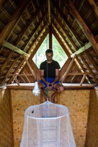 Javanese huts at Portibi Farms