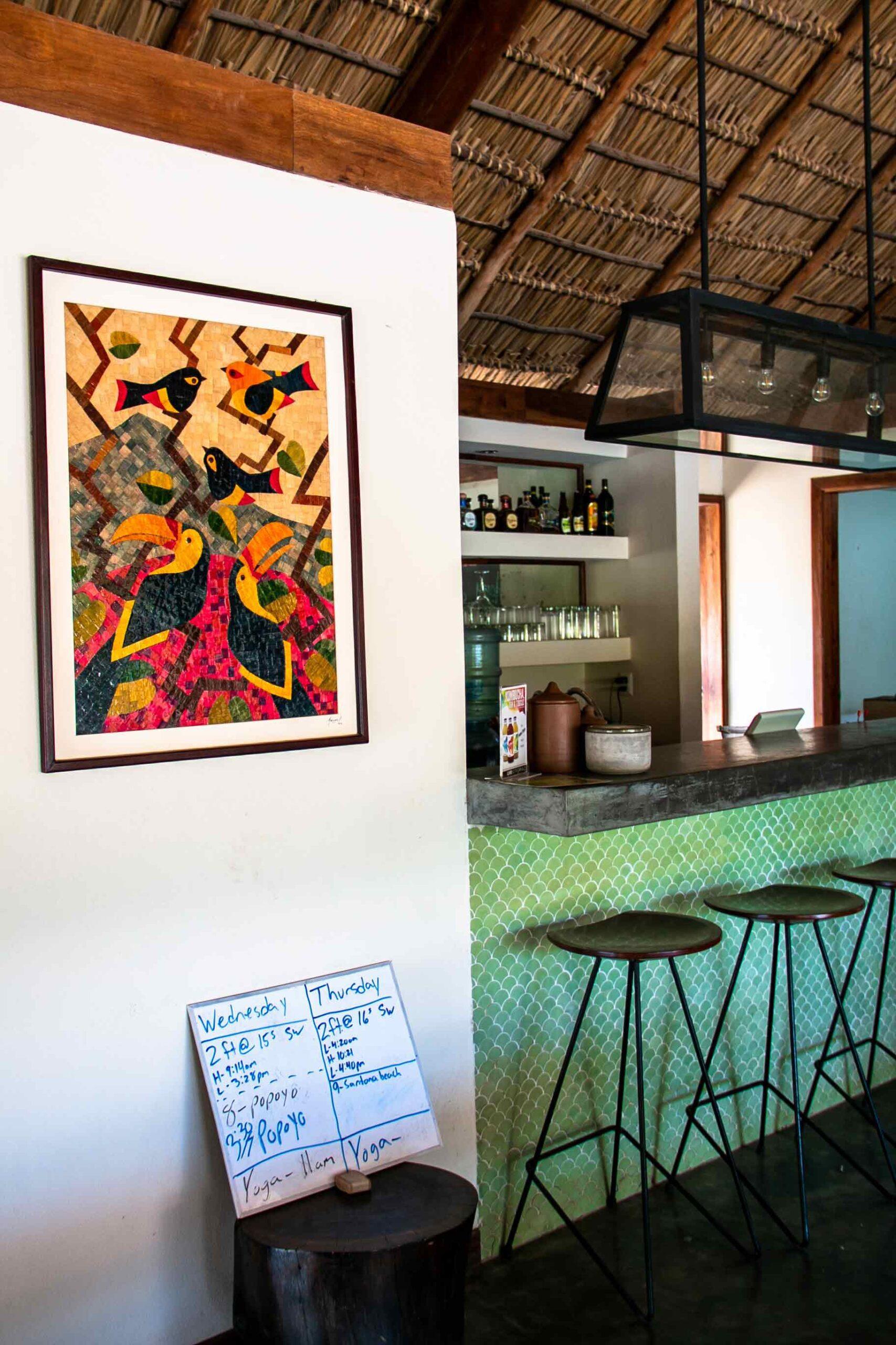 La Cantina restaurant at Malibu Popoyo Nicaragua