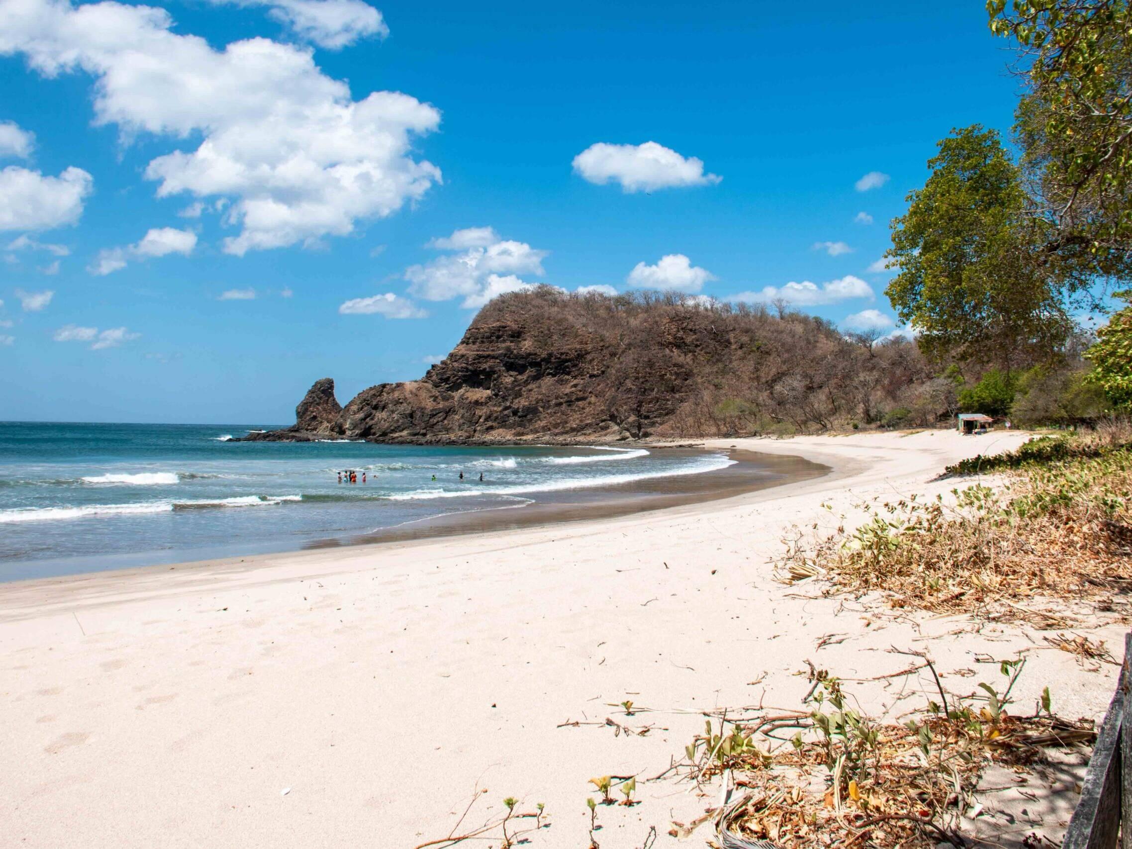 Playa Majagual in Nicaragua