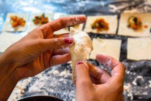 ravioli cooking portibi farms indonesia