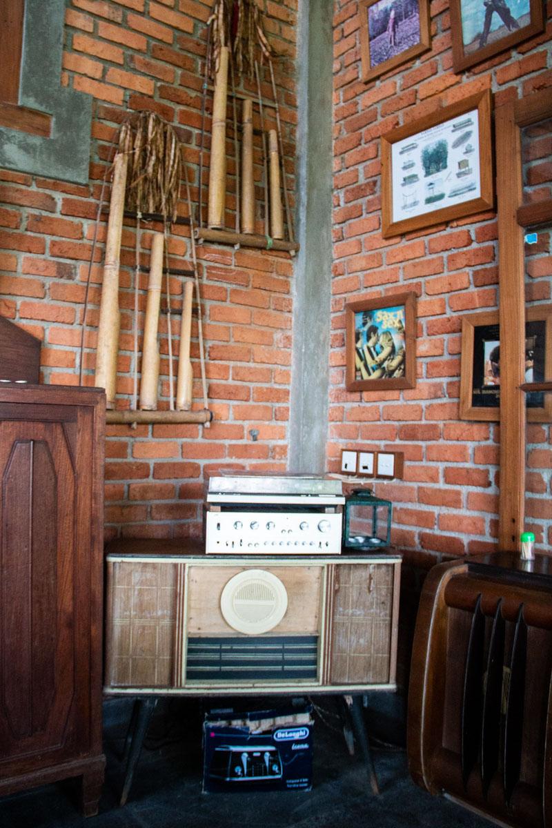 curiosities at portibi farms restaurant in Java
