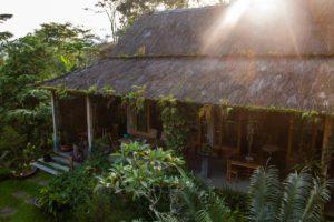 restaurant at Lodges Ekologica at Portibi Farms