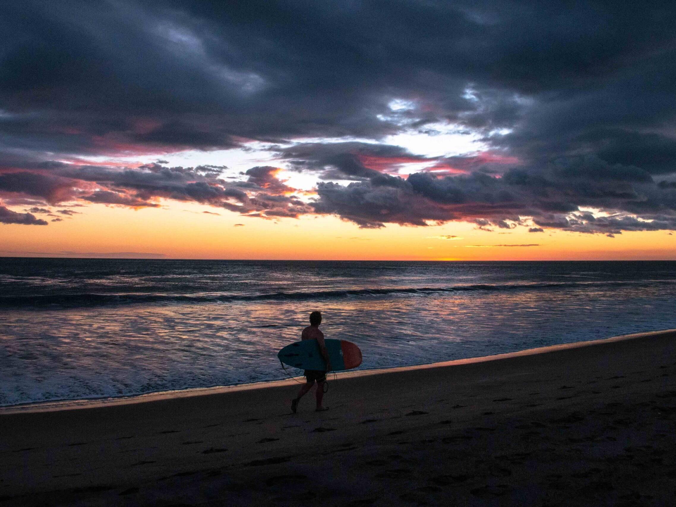 Sunset at Playa Guasacate