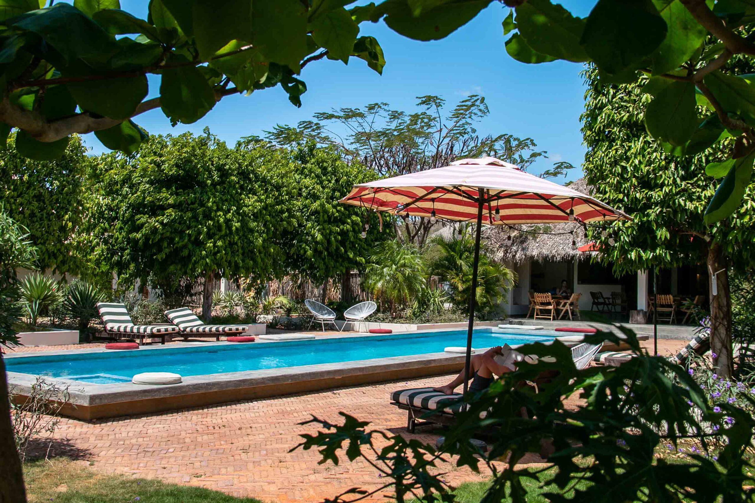Malibu Popoyo swimming pool in Nicaragua