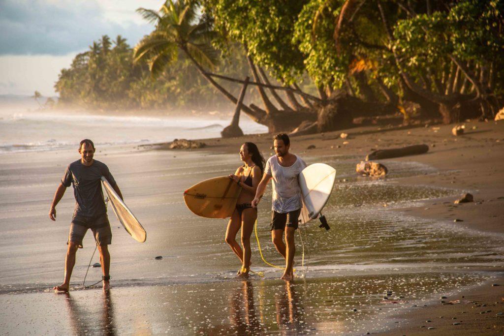 surfers Mokum Surf Club retreat Punta Banco Costa Rica