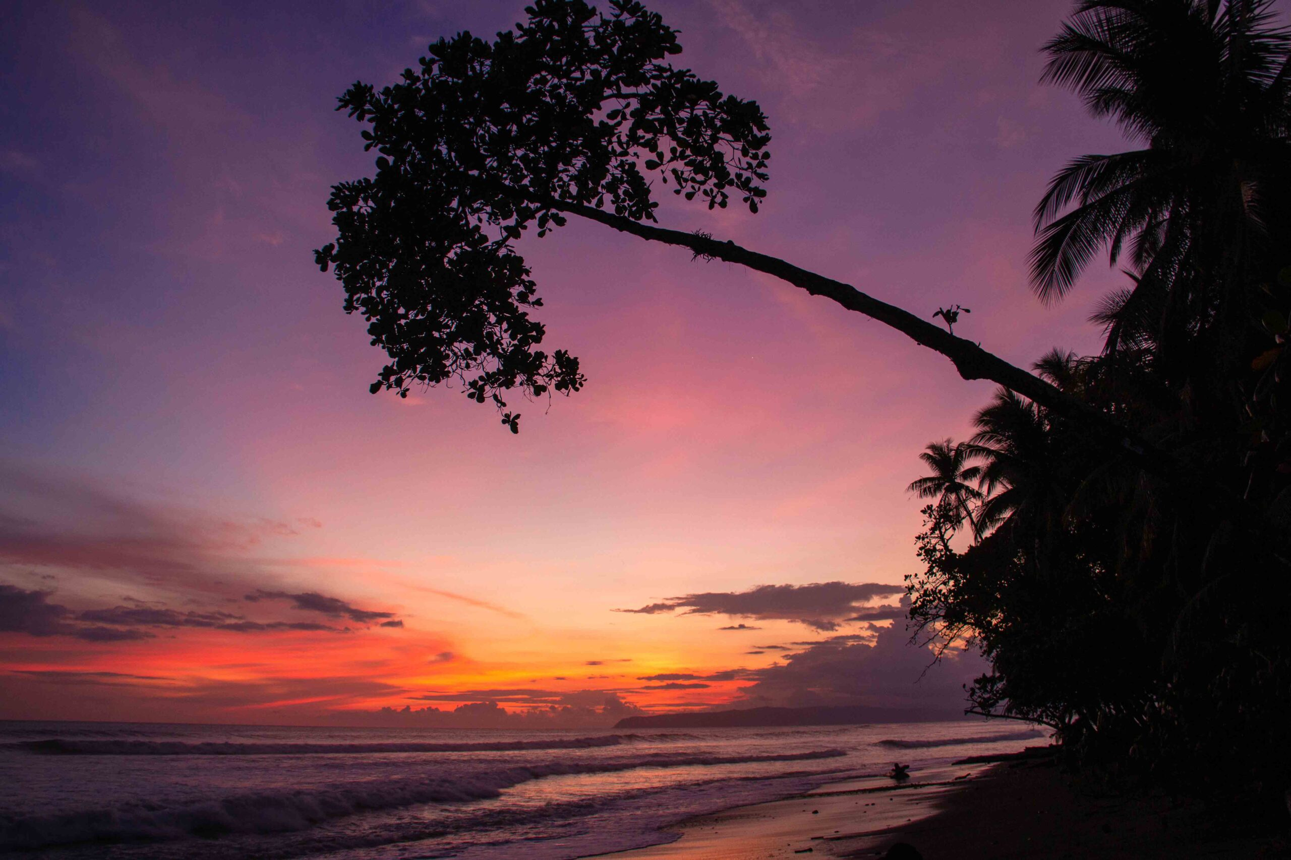 Sunset in Punta Banco Costa Rica