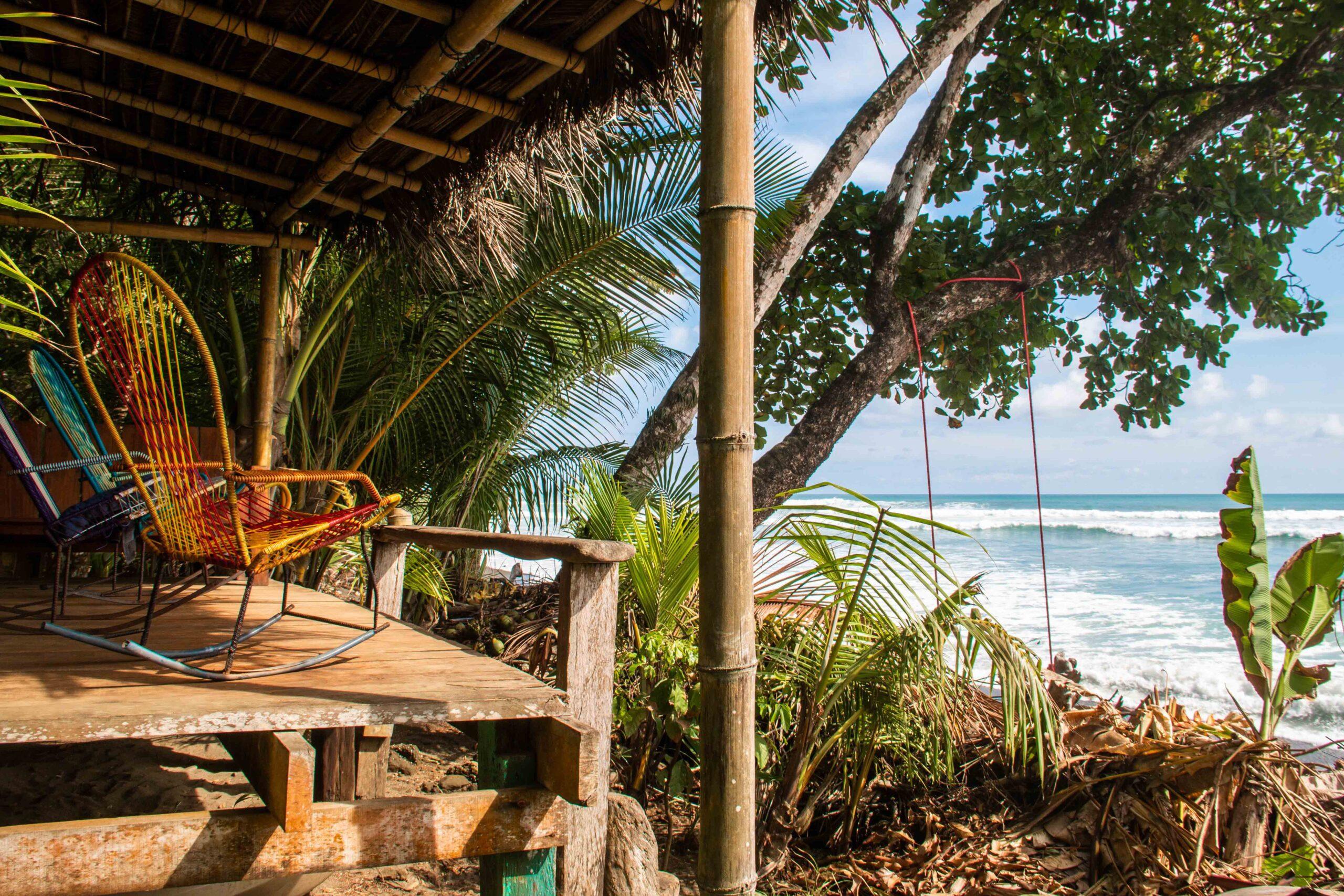 Rancho Burica deck Costa Rica