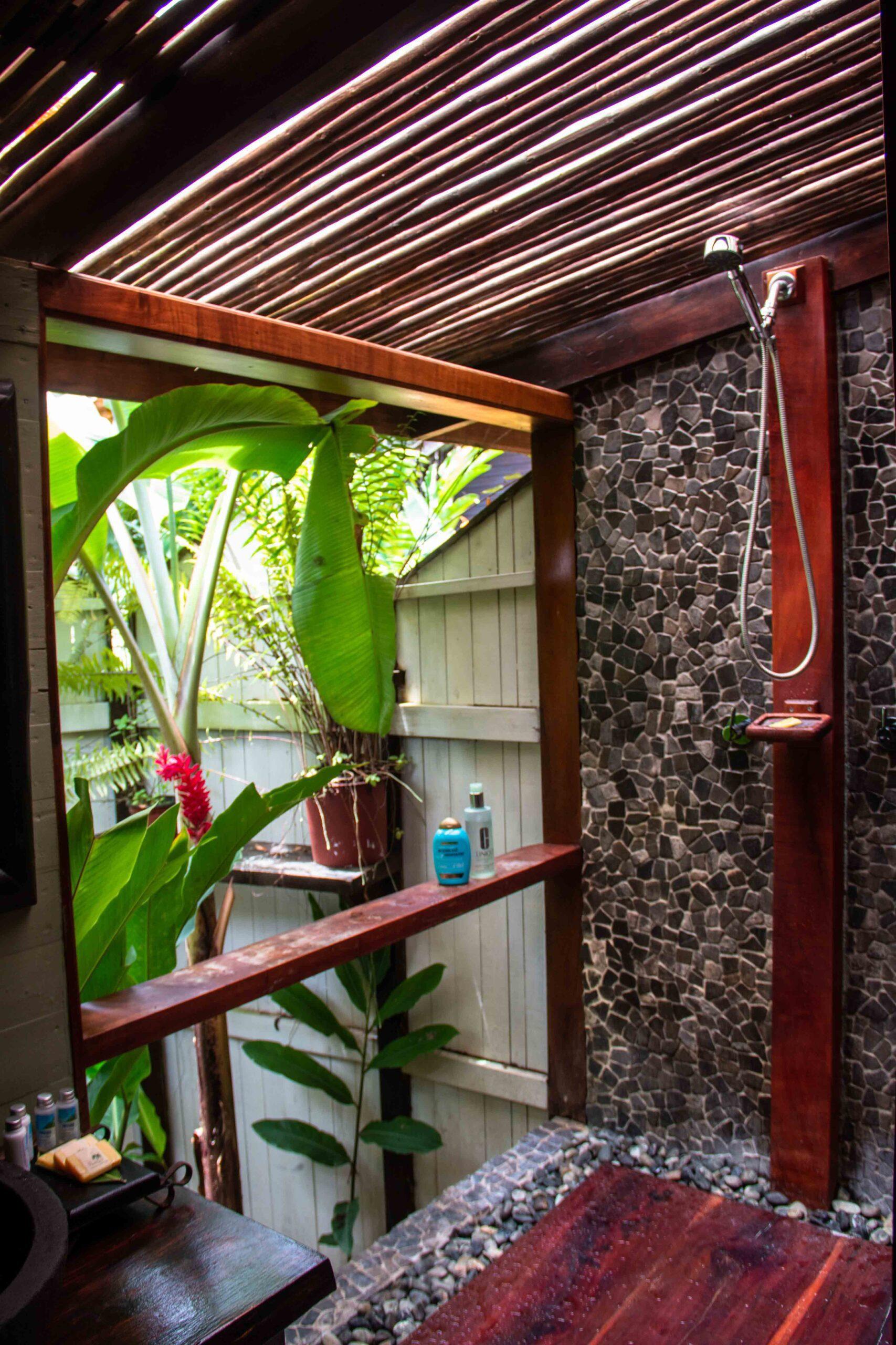 Shower at Island Plantation Bocas del Toro