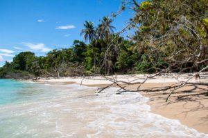 Beach of Cayo Zapatilla Panama
