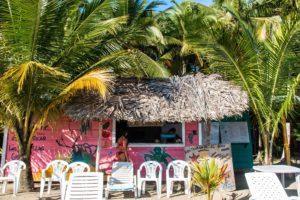 Beach restaurant at Playa Estrella Bocas del Toro