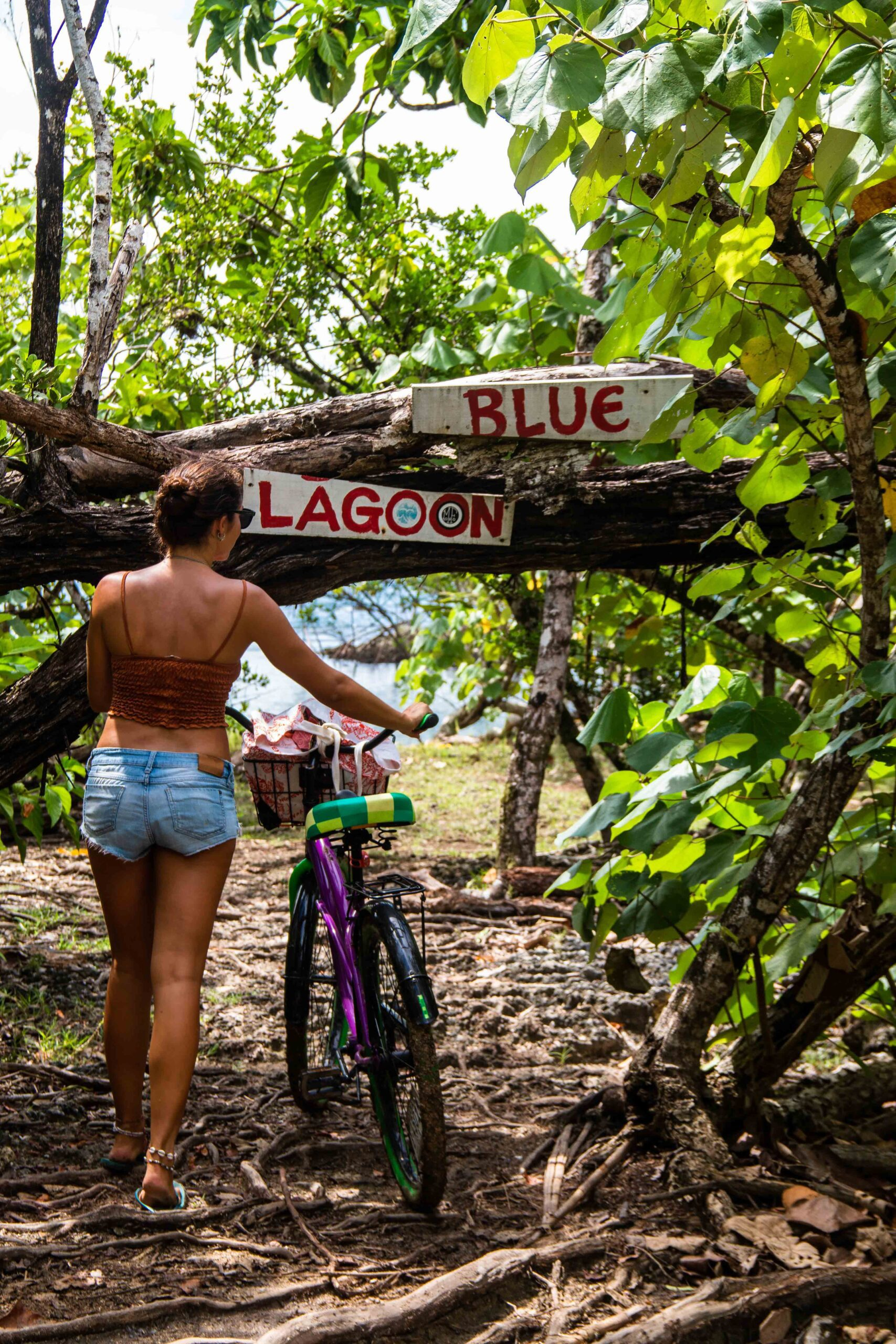 Blue lagoon Bocas del Toro