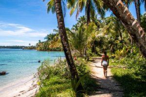 Bocas del Drago walk on Bocas del Toro Panama