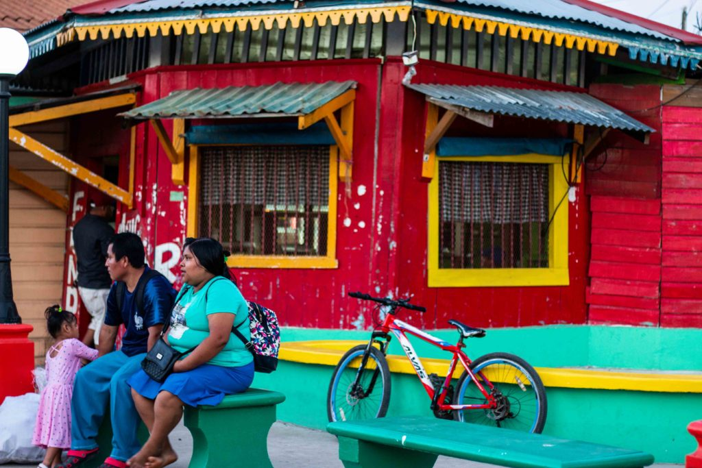 Bocas del Toro town Panama
