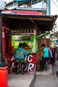 Local soda in Bocas Town Panama