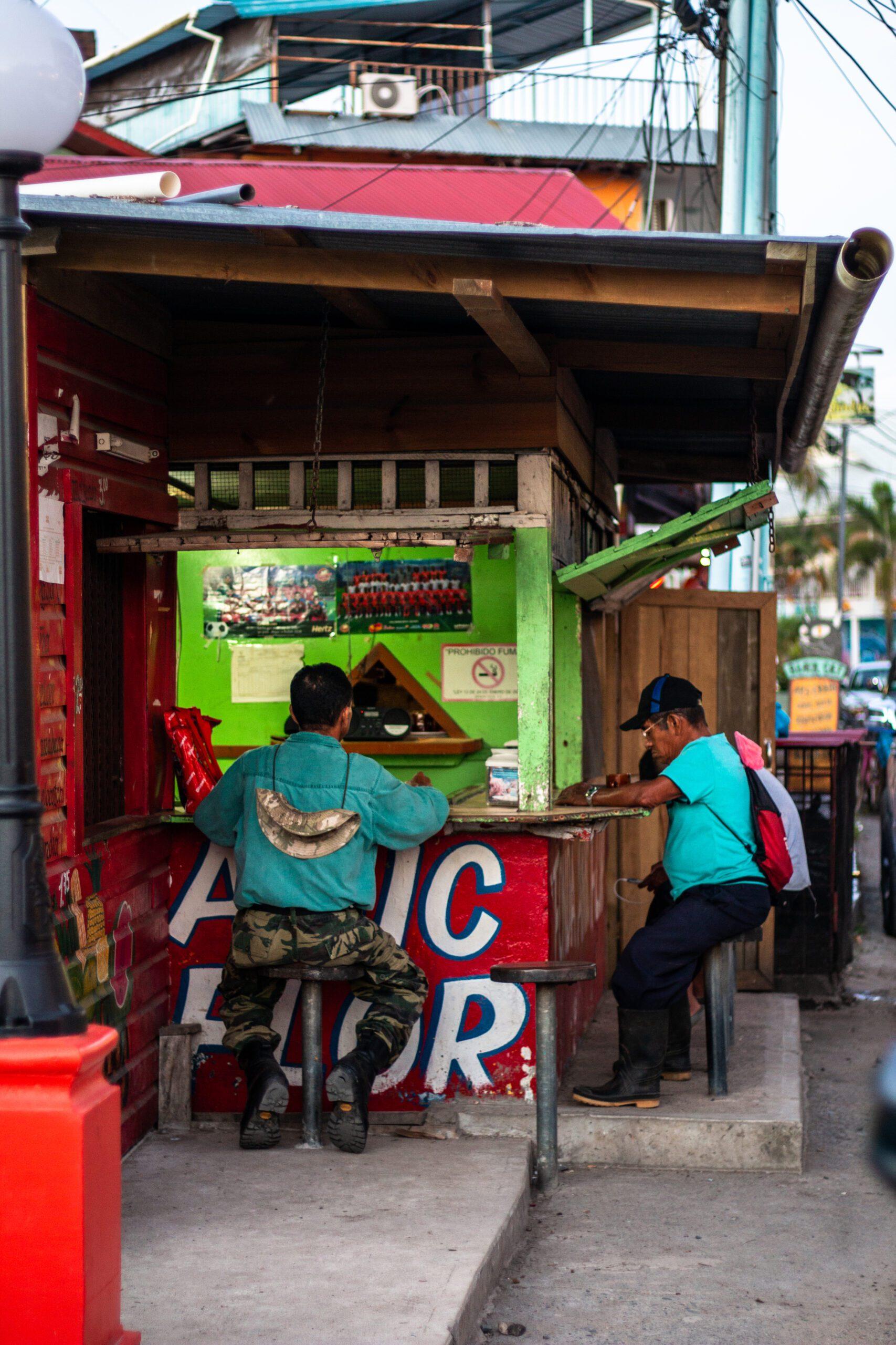 Local soda in Bocas Town Panama