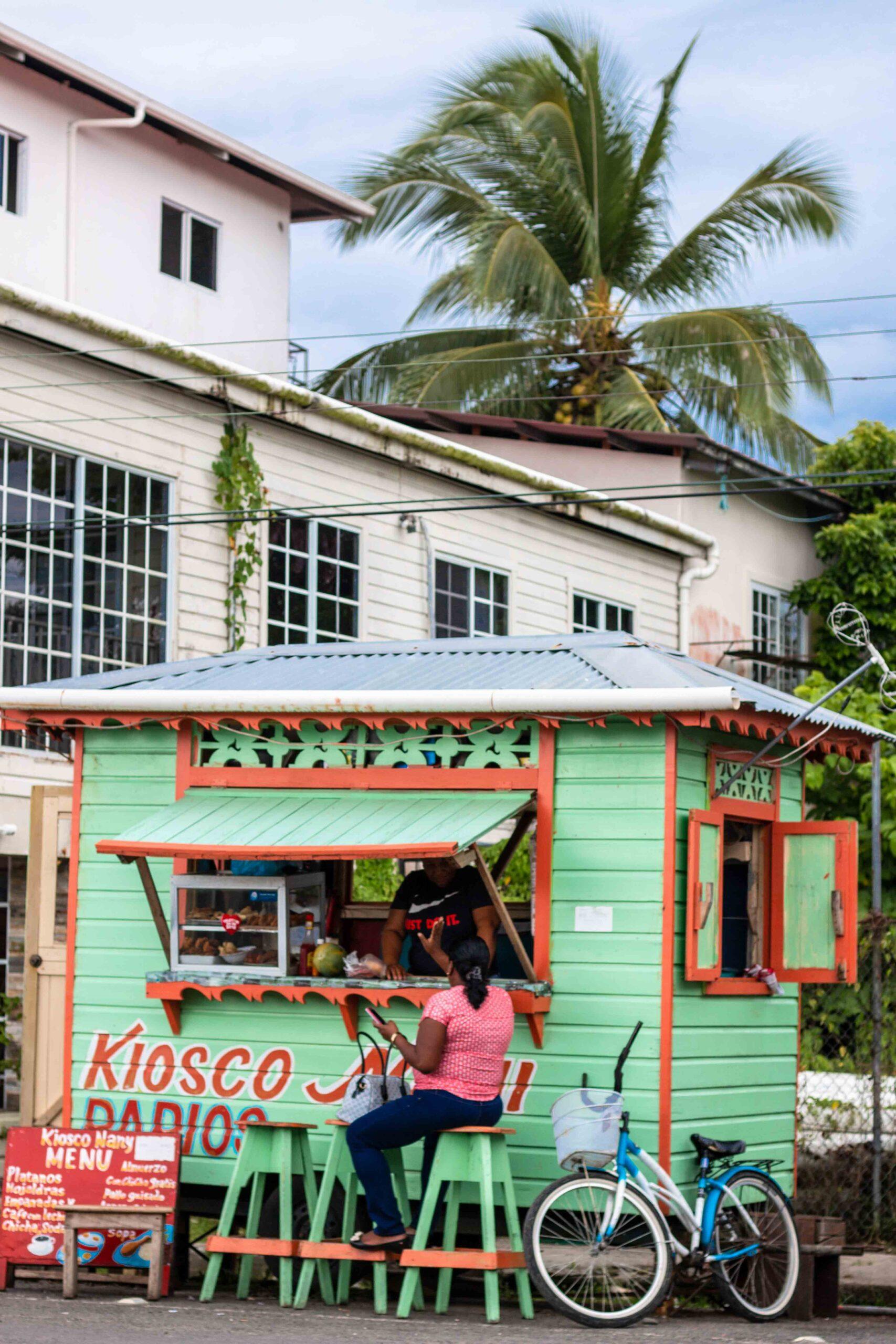 Bocas town on Isla Colon Bocas del Toro