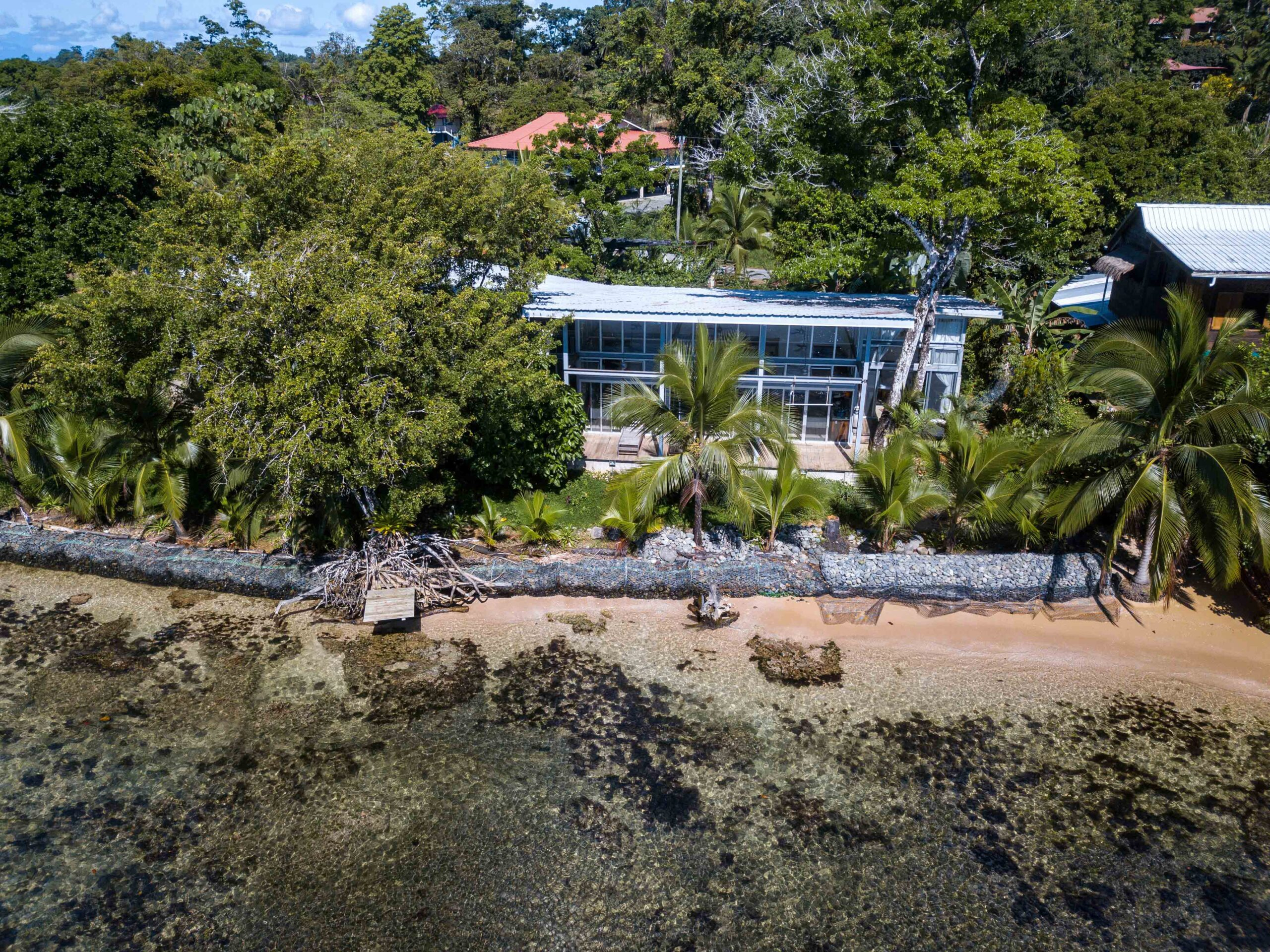 Casa Comunal drone photo in Bocas del Toro