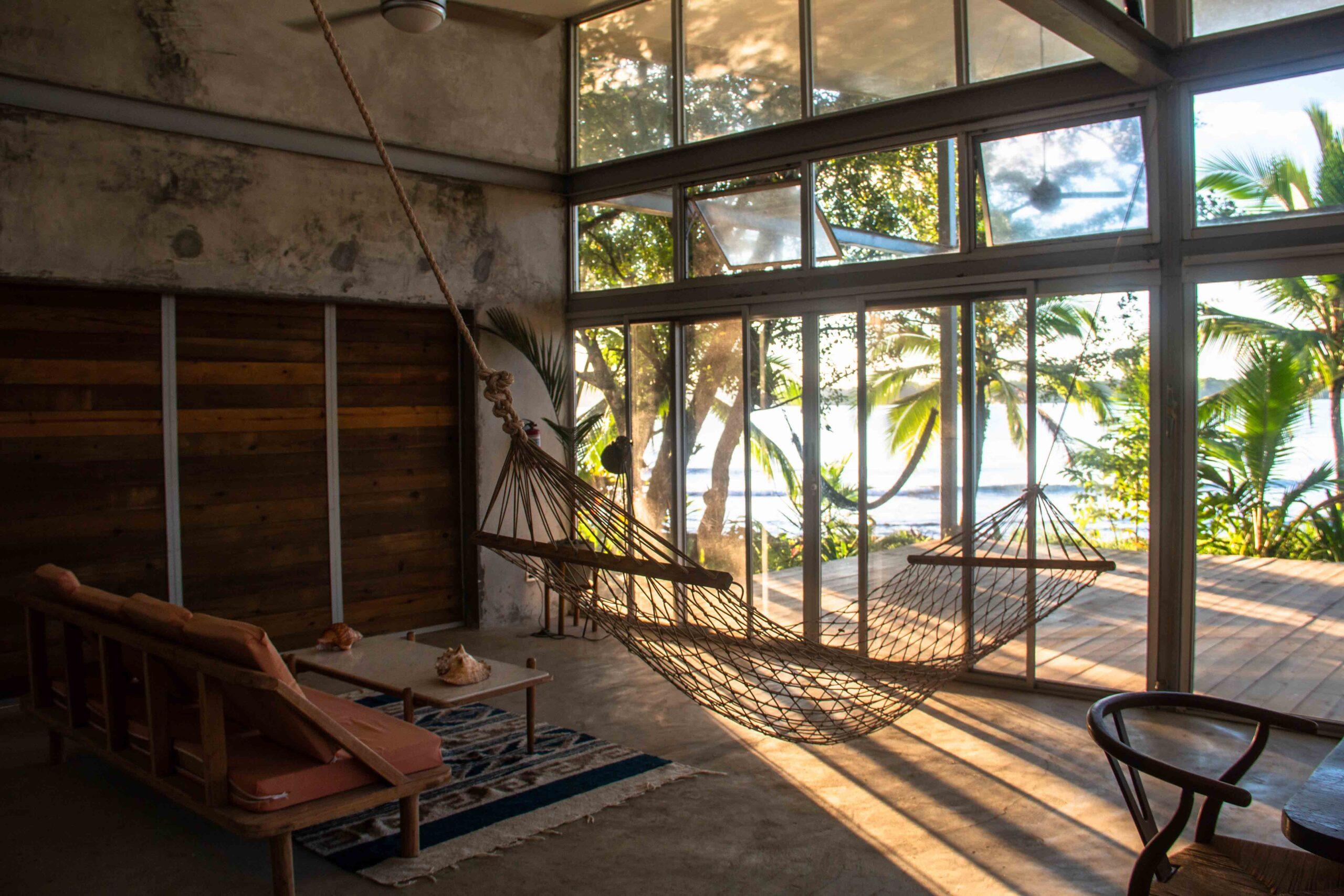 Casa Comunal living room Bocas del Toro