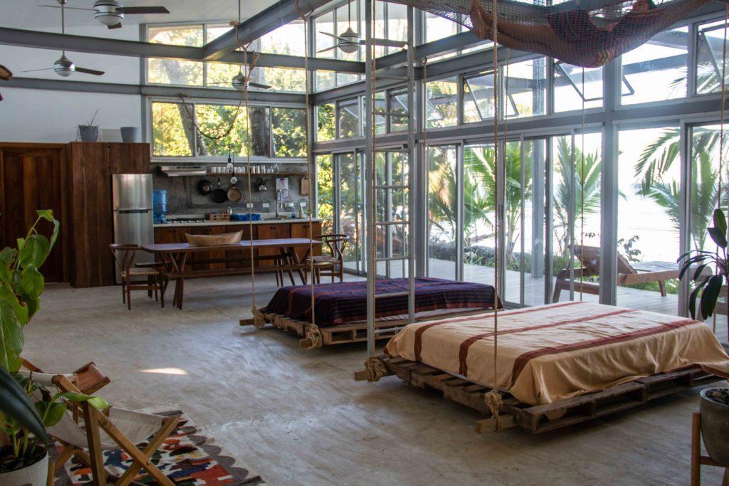 interior Casa Comunal Bocas del Toro