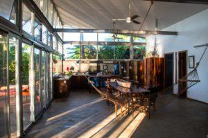 Kitchen at Casa Comunal Bocas del Toro