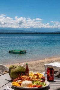 Lobster at Bocas del Toro