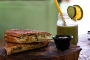 Lunch at Cafe del Mar Bocas del Toro