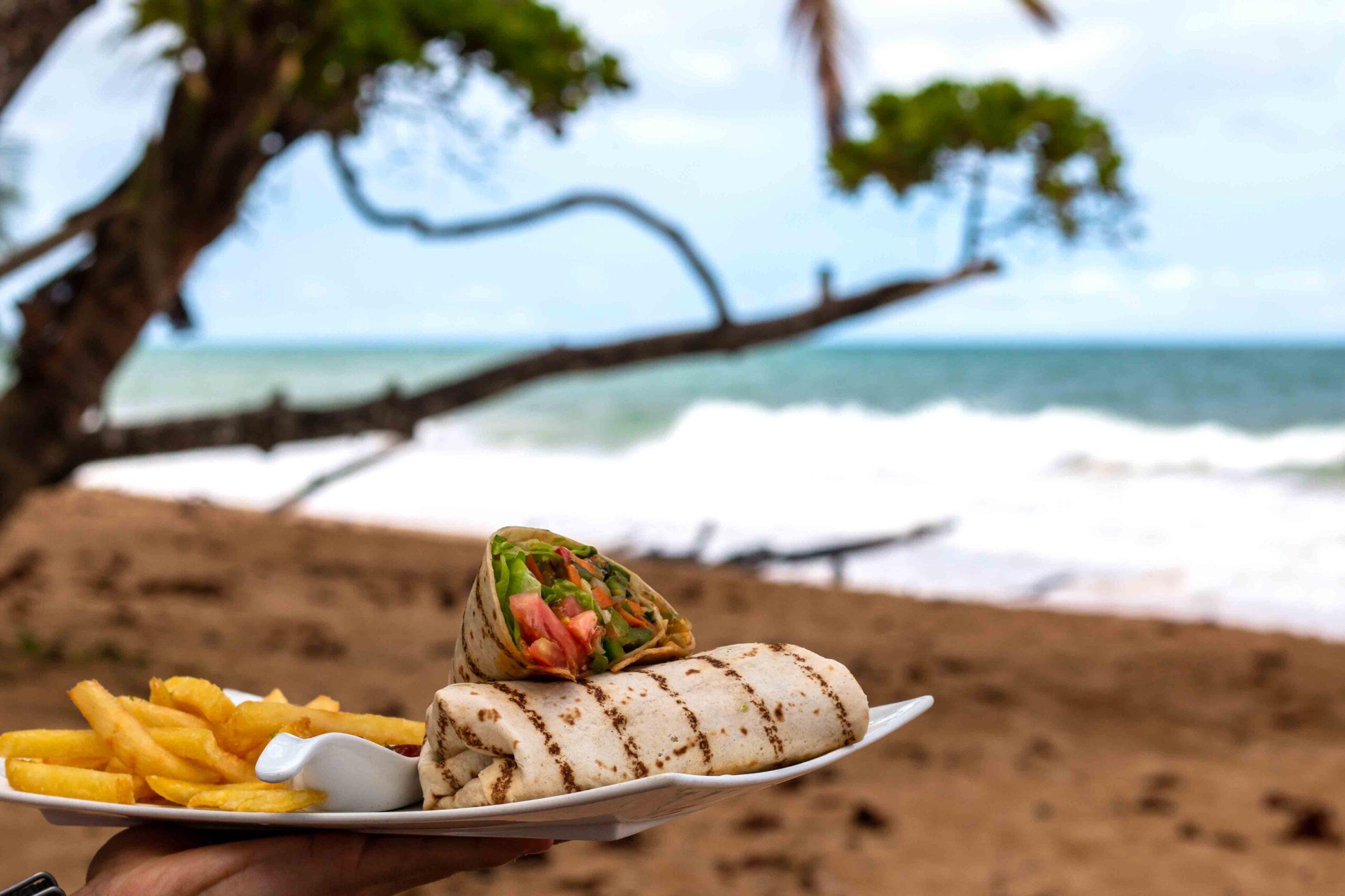 lunch island plantation bocas del toro