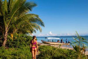 Bocas del Drago beach in Bocas del Toro Panama