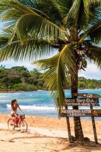 Cycling on Bocas del Toro