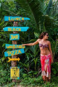 Beach restaurant Island Plantation Bocas del Toro