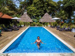 Swimming pool at Island Plantation Bocas del Toro