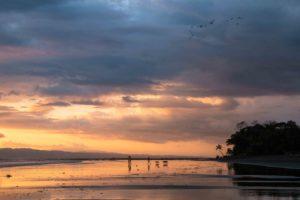 beach sunset Punta Banco Costa Rica