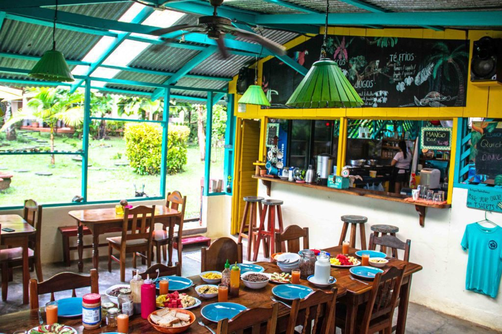 breakfast Rancho Burica Costa Rica