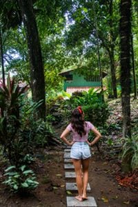 jungle garden Rancho Burica