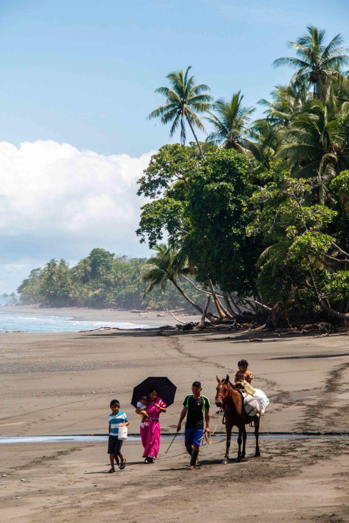 guaymi indigenous people Punta Banco Costa Rica